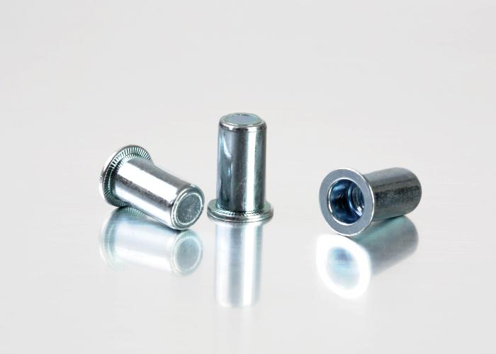 Flat Head Plain Body Steel 1